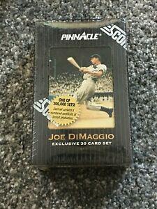 1993 Pinnacle Joe DiMaggio Exclusive 30 Card Set - Factory Sealed Yankees RARE!!