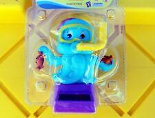 1- Blue Snorkel Diver Octopus BOBBLE TOY SOLAR POWER CAR DASH OFFICE DESK GIFT
