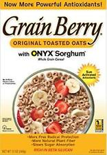 Grain Berry Original Toasted Oats With Onyx Sorghum 12 Oz Exp. 03/19