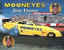 Jim Dunn Racing Kenji Okazaki Dodge Avenger Handout/Hero Card NHRA Funny Car