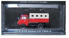 """DIE CAST """" LF 8-STA ROBUR THE 1800-A """" FIREFIGHTERS OF FIRE TRUCK SCALE 1/72"""