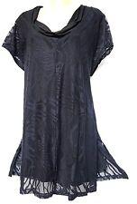 plus sz XXS / 12 TS TAKING SHAPE C'est La Vie Tunic soft stretch lace NWT rp$130
