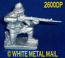 Military Lead Casting LA2600DP 24th Foot Enlisted Man Kneeling Firing