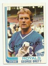 GEORGE BRETT 1982 TOPPS #200 KANSAS CITY ROYALS