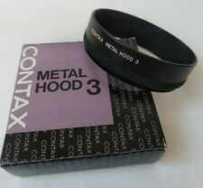 [NEAR MINT in Box] Contax Metal HOOD 3 Genuine From Japan