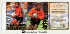 1996 Futera Rugby Union Trading Cards Michael Lynagh Tribute Signature Card-Rare