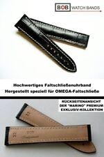 - Bob faltschliessenband 22 mm alligatorprägung compatible con Omega-faltschlie