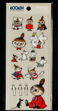 Moomin Stickers Sticker Sheets lot Kawaii Look Rare Little My Snorkmaiden B