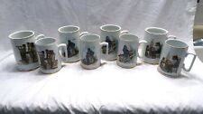 """New ListingTwo Sets of Norman Rockwell's """"Seafarers� Collection Tankards"""