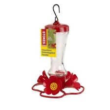 Stokes Select Impatiens Hummingbird Feeder with Four Feeding Ports, 8 fl oz Nect