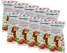 Toothpop Zahnpflege-Lolli Erdbeere mit Xylitol, zuckerfrei, 10er Pack (10 x 6 g)