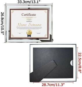 Schliersee 8.5 x 11 Certificate Document Glass Frames, 4 pack