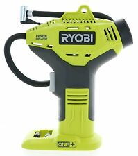 Ryobi 18V ONE+ Portable Cordless Power Inflator for Tyres, Battery Not Included