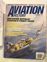 Aviation History Magazine Brewster Buffalo Fighter's November 1996 050319nonrh