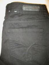 Calvin Klein Skinny Capri Crop Stretch Womens Black Sz 4 x 26 WF12D05C Mint