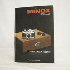 Minox Germany  Classic Camera Collection Verlag Rudolf Hillebrand  2001