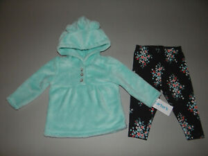 NWT, Toddler girl clothes, 5T, Carter's Fleece Set/~~SEE DETAILS ON SIZE/NEW OUT