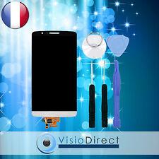 Ecran vitre complet pour LG G3 D855 blanc vitre tactile + ecran LCD + outils