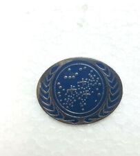 "Star Trek Ufp Symbol Logo Oval Enamel Pin- 1"" Wide (Stpi-004-Oval)"