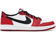 2015 Nike Air Jordan 1 Retro Low OG GS SZ 6Y Chicago White Red BREDS 709999-600