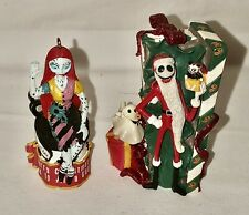 Jack Skellington and Sally Set of Nightmare Before Christmas Ornaments