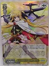 Signed Weiss Schwarz Lyrical Nanoha the Movie 1st & 2nd A's N2/W32-106SSP Fate