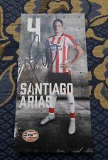 Signierte AK Santiago Arias PSV EINDHOVEN NEU MEGA RAR Kolumbien WM 2018