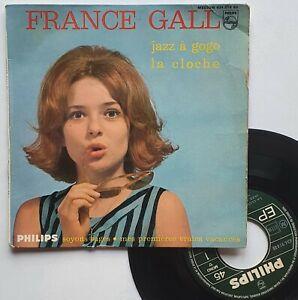 """EP 45T France Gall   """"La cloche - Jass à gogo"""" - (TB/B)"""