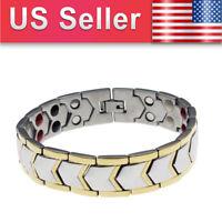 Magnetic Health Bracelet Relief Arthritis Bio Therapy Chronic Pain for Men Women