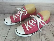 Converse 532250F Womens Size 7 Pink CTAS Slim Low Oxford Sneakers Shoes h4i
