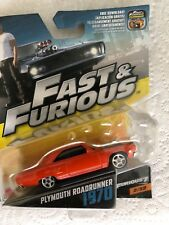 Fast and Furious Plymouth Roadrunner 1970  die cast model car