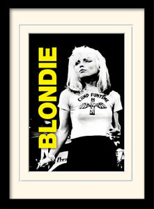 Blondie Live Framed & Mounted Print