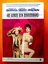 LA REINA DEL VAUDEVILLE / Gypsy - Mervyn LeRoy - Natalie Wood / Rosalind Russell