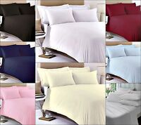 400 THREAD COUNT LUXURY 100% EGYPTIAN COTTON FITTED BED SHEETS, WHITE ALL COLOUR