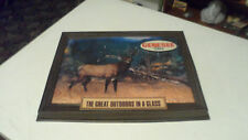 RARE 1975 GENESEE BEER GREAT OUTDOORS BUCK DEER SIGN INSERT ONLY 1 ON  EBAY NOS