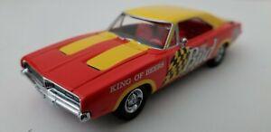 "Matchbox DYM37598 1969 Dodge Charger - Bud ""Racing"" Charger NASCAR 1:43 NIB!!"