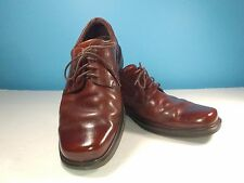 Ecco Brown Leather Casual Dress Oxford Shoes Size US 9-9.5 EU 43