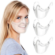 Clear Face Shield Transparent Protective Mask Visor Protection Durable Reusable