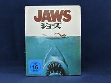 JAWS Steelbook 4K Bluray Japan Dents De La Mer Spielberg Dreyfuss Scheider NEW