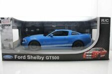 RASTAR OFFICIAL LICENSED Blue Mustang Shelby GT500 Remote Control CAR 1:14 NEW