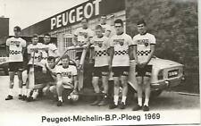 Cyclisme, ciclismo, wielrennen, radsport, cycling, EQUIPE PEUGEOT 1969