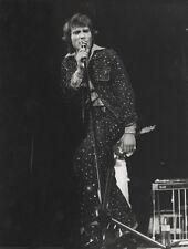 """Johnny HALLYDAY "" Photo de presse originale GAMMA / Michel GINFRAY 18x24cm"