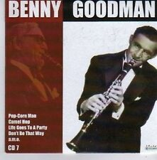 (CK190) Benny Goodman, Don't Be That Way - 2005 CD