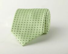 Lime Green Contrast Studs 9CM Business Fashion Woven Tie Stylish Modern Edge