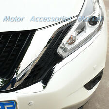New Chrome Front Light Trim For Nissan Murano 2015 2016 2017 2018