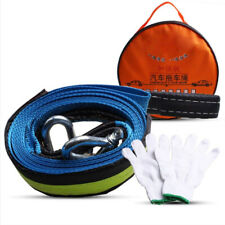 Universal Relief Tow Rope Thickened Widened + U-shaped Small Trailer Hook Kits