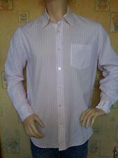 marc o'polo shirt . large . pink & white stripes.  vgc