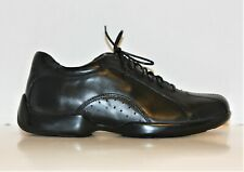 Aetrex Men's Black Leather Comfort Therapeutic Dress Shoes G650M Size 8.5 Wide