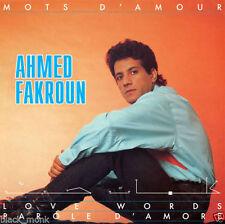 Ahmed Fakroun-mots d amour (1983) vinyl LP