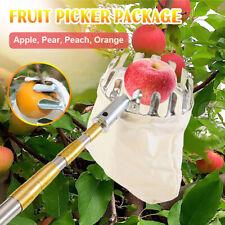 Fruit Picker Cutter Catcher Apple Picking Head Horticultural Farm Basket Tool